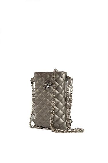 Bagmori Messenger / Askılı Çanta Gümüş